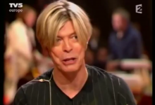 David Bowie French TV interview with Damon Albarn (2003)