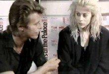 David Bowie with La La La Human Steps – interview (1988)