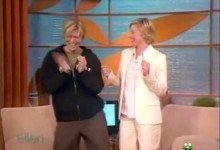 David Bowie interviewed on the Ellen Show (2004)