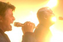 David Gilmour & David Bowie – Arnold Layne  (Live, Albert Hall, London 2006)