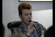 David Bowie interview – Russian TV (1996)