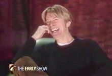 David Bowie interview – The Early Show (2002)