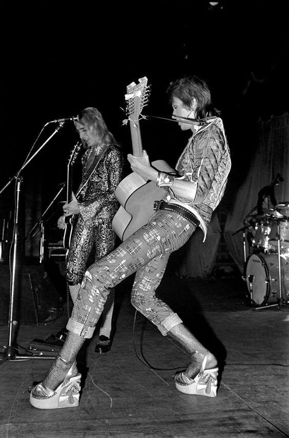David Bowie Hardrock Concert Theatre Manchester Uk 1972