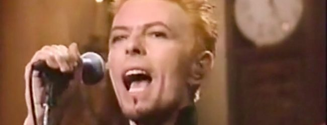 David Bowie – Little Wonder & Scary Monsters (Saturday Night Live, 1997)
