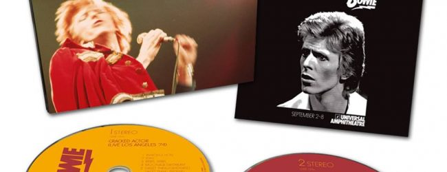 ‪David Bowie Cracked Actor – Live Double CD is out now!