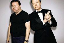 David Bowie introducing Ricky Gervais, High Line Festival, NYC, 2007