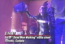 Floria Sigismondi Interview, including behind the scenes clip from the Dead Man Walking Video shoot