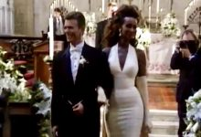 David Bowie & Iman Wedding, American Church of St James Florence, Italy (6th June 1992)