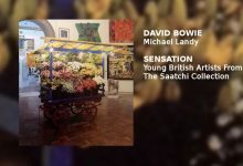 David Bowie narrates the audio tour of the Brooklyn Museum of Art's presentation of SENSATION –  MICHAEL LANDY Costermonger's Stall (1992-7)