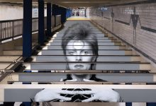 David Bowie is, New York City subway takeover (2018)