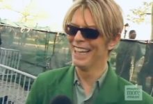 David Bowie, Interviewed for Much More Music (Battery Park, NYC, 2002)