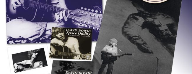 "David Bowie – Space Oddity- 50th Anniversary 2 x 7"" Box Set released on Parlophone on 12th July"