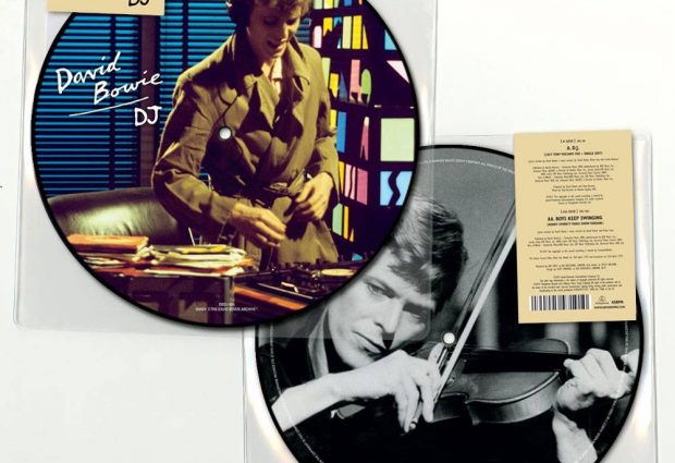"""David Bowie D.J. Limited Edition 40th Anniversary 7"""" Picture Disc is Out Now!"""