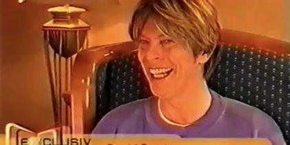 David Bowie, German TV Interview (2002)