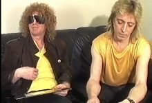Mick Ronson and Ian Hunter Interviewed by Philippe Auliac (1990)