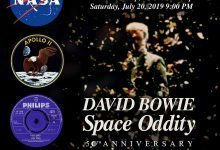 A new David Bowie video for Space Oddity will be premiered at a NASA event at The Kennedy Center in Washington on 20th July!