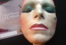 Limited Edition of 25 David Bowie hand painted life masks by Nicholas Boxall now available