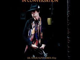 Earl Slick In Conversation, UK Tour Dates…