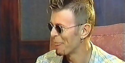 David Bowie Interview, Argentinian TV (1997)