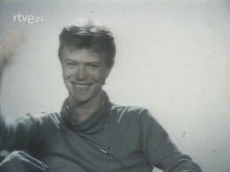 David Bowie (Spanish TV, short interview, 1980)