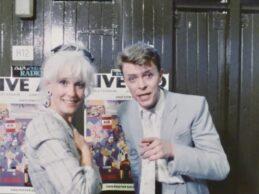 David Bowie – Backstage Interview (Live Aid 1985)