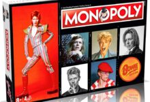 David Bowie Monopoly is available now!