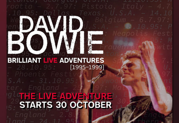 Updated! 'Brilliant Live Adventures': six new David Bowie live albums from 1990s to be released physically