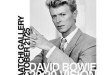 'David Bowie 20/20 Vision' photographs by Tony McGee at Saatchi Gallery, London, 21-25 October!