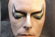 Limited Edition Labyrinth inspired Jareth mask by Nicholas Boxall now available!
