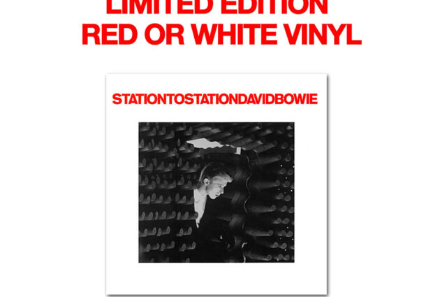 Station To Station 45th anniversary on red or white vinyl, released January 22nd!