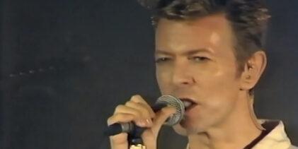 David Bowie – Look Back in Anger (Opera Le Bastille, Paris, November 1995)